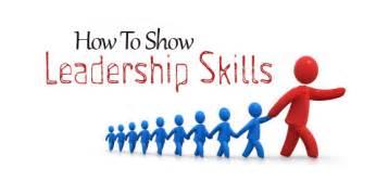 how show leadership skills