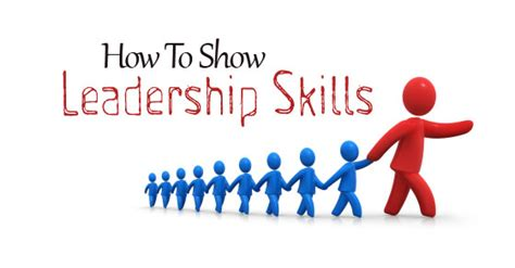 Good Skills For A Job Resume by How To Show Leadership Skills 4 Important Stages Wisestep
