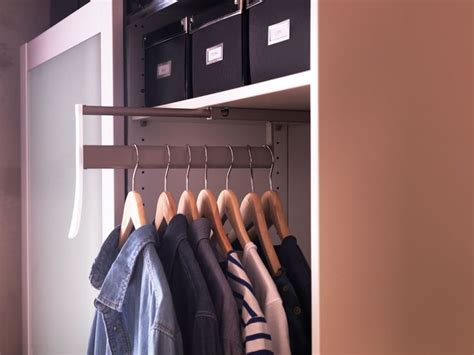 dealing with shallow wardrobes shallow closet ideas when it s not deep enough for