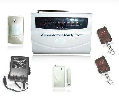 home commercial burglar alarm system sa q16