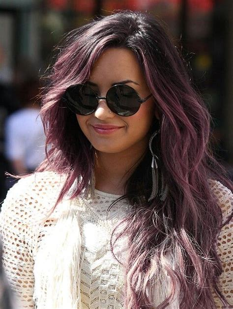 demi lovato inspired pink purple dip dye ombre hair dark black brown to pastel pink ombre hair beauty