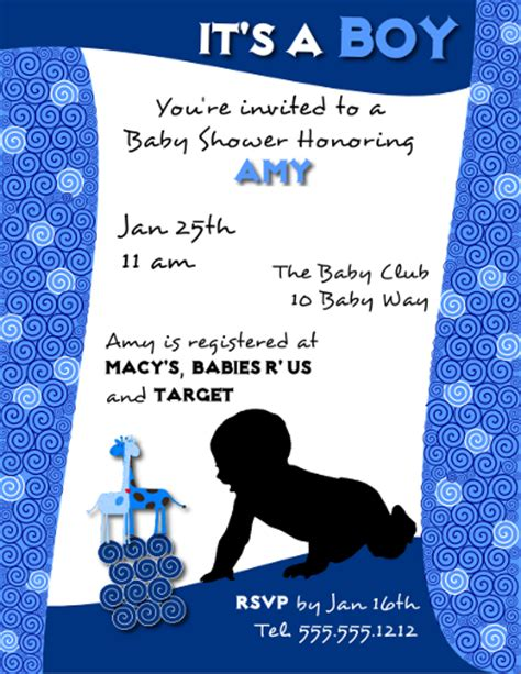baby shower poster template 301 moved permanently