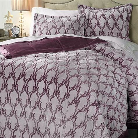 1online highgate manor 3 velvety plush comforter