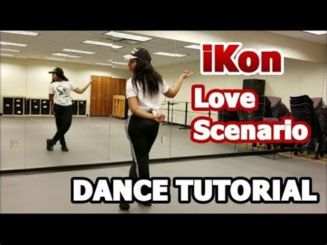 tutorial dance love me right ikon love scenario dance tutorial part 1 youtube