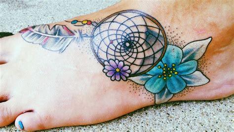 dream catcher tattoo with flowers dream catcher tattoo tatts i love pinterest