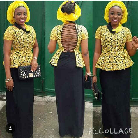 blouse nigeria style latest ankara skirt and blouse style 2017 fashion and