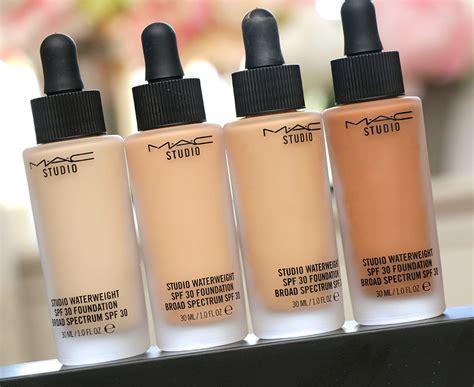 Mac Foundation mac studio waterweight spf 30 foundation makeup and
