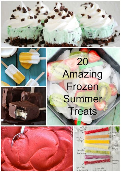 Keep Your Treats Cool Like by 20 Amazing Frozen Summer Treats Made From