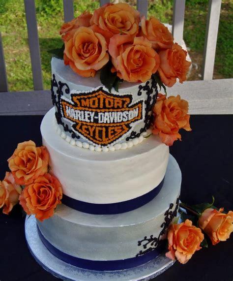 harley davidson bc wedding cake cake by nancy s fancy s cakes catering nancy goolsby
