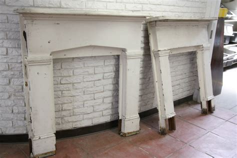 Salvaged Fireplace Mantels For Sale by House Tweaking