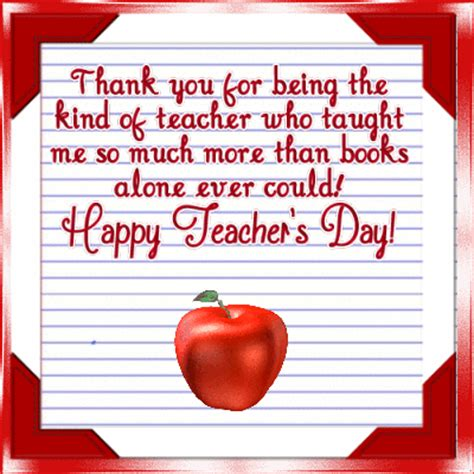 Thank You Letter For Teachers Day Thank You For Being A Free Day Ecards 123 Greetings