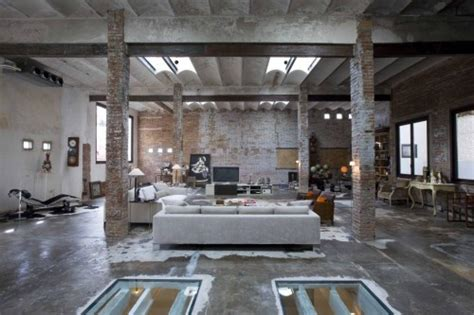 interior conversion of industrial loft and material
