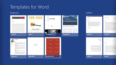 microsoft word template http webdesign14