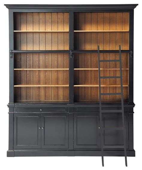Bookcase Cabinet Versailles Bookcase Traditional Bookcases By Maisons