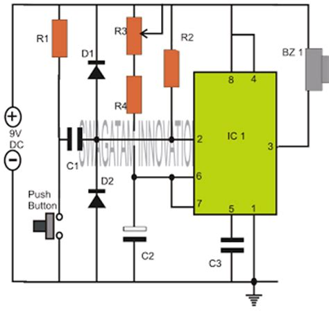 capacitor resistor timer how to make a simple timer circuit using ic 555 circuit book free