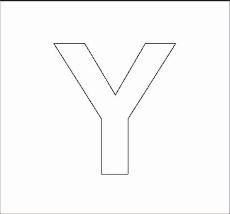 printable capital letter stencils 8 best images of y block letter stencils printable