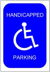 Disabled Parking Template by 28 Handicap Parking Sign Template Disabled Parking Sign