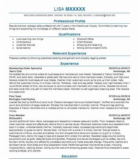 supervisor resume exle usps andover