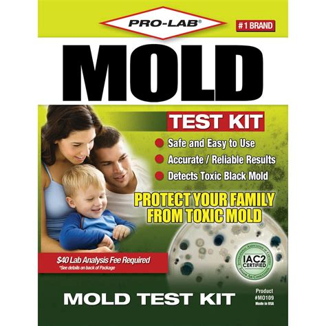 pro lab mold test kit mo109 the home depot