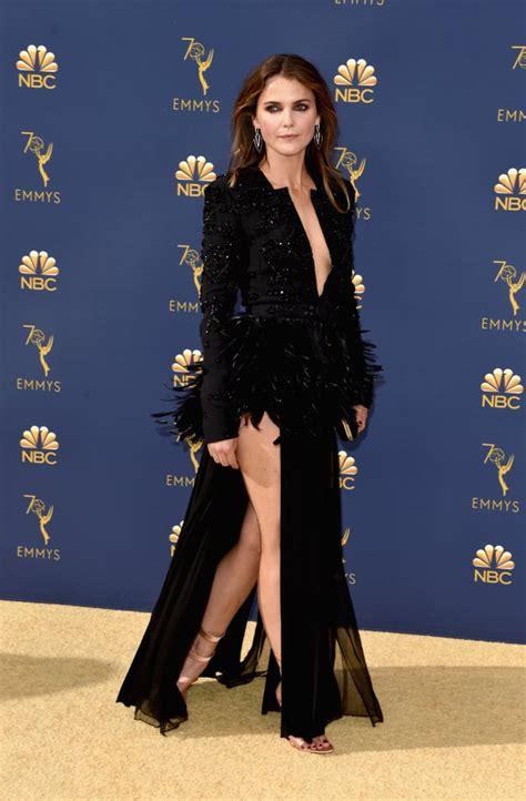 Dress Emmy s black dress at the 2018 emmys popsugar