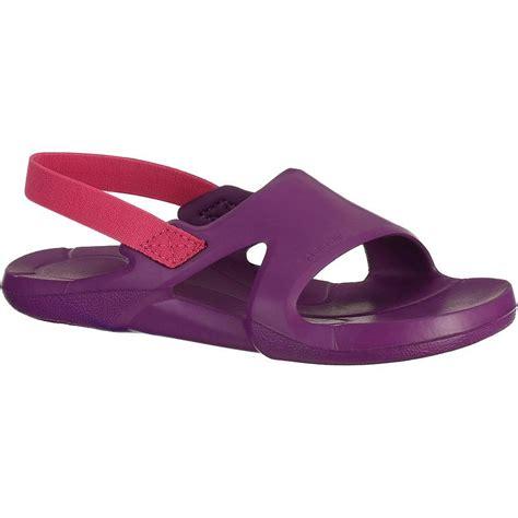 pool shoes nataslap junior pool shoes purple decathlon