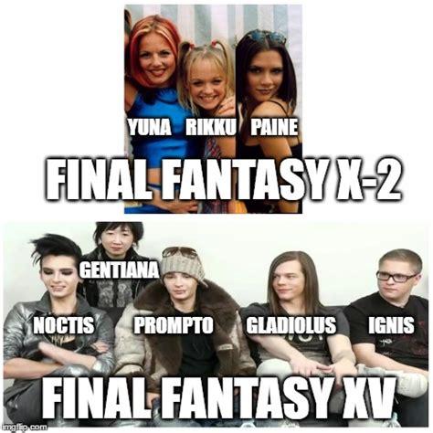 Final Fantasy Memes - final fantasy x 2 imgflip