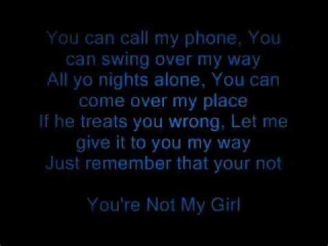 lyrics leslie you re not my lyrics leslie