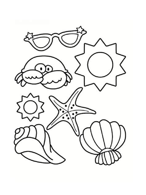 summer santa coloring page coloriage mer des dessins 224 imprimer