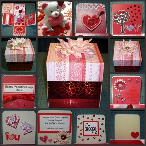 valentines day card boxes s day explosion box card box