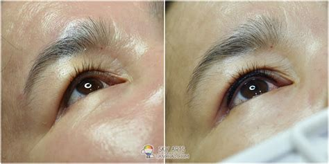 tattoo eyeliner in malaysia professional contour eyebrow embroidery course by ivy