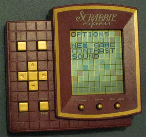 Sold Scrabble Express Handheld Travel Electronic