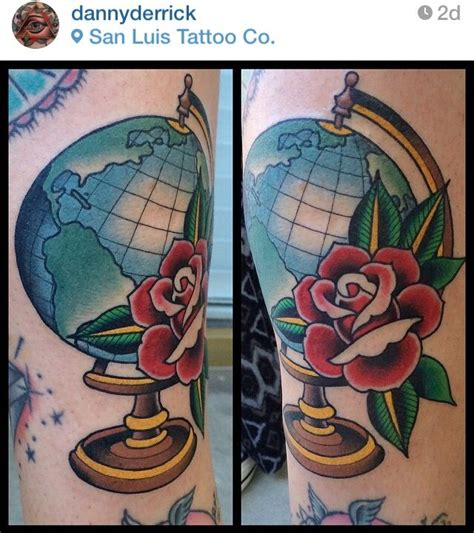 globe tattoo online help 142 best globe world tattoos images on pinterest