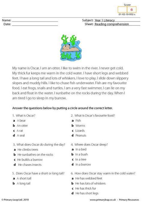 Reading Comprehension Worksheets 3rd Grade Choice by Reading Comprehension Choice Worksheets
