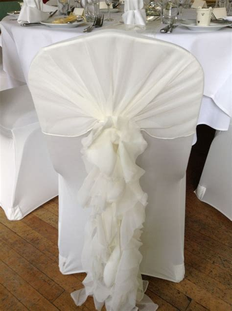 17 Best images about Wedding 10 12 14   Chairs, Ruffles