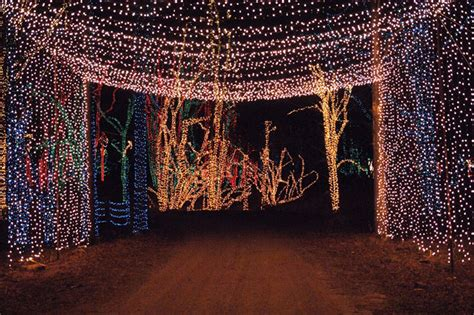 the holiday light show returns to shady brook farm with