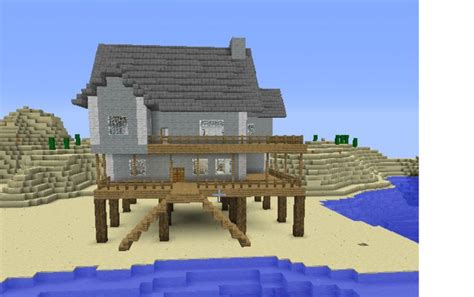 how to build a beach house in minecraft 26 best images about minecraft on pinterest village
