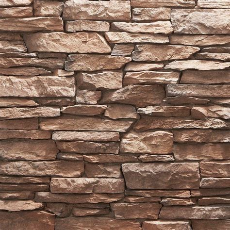 ledge stone panel usa veneerstone shadow ledge kanella 10 sq ft handy pack manufactured 97616 the home depot
