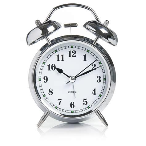 wilko bell alarm clock silver wilko