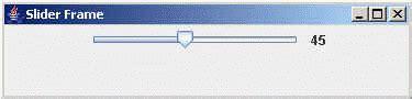 java swing slider jslider component of java swing