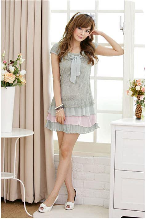 Set Nazla Mini Dress Korea korean style clothing style new year 2013 new