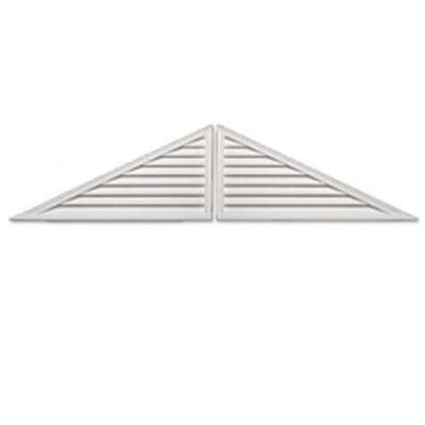 fypon gable vents fypon 60 in x 25 in x 2 in polyurethane functional two