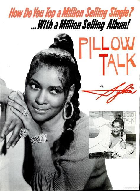 ad for sylvia s quot pillow talk quot soul symphony