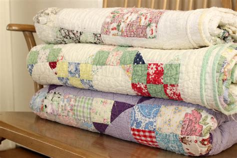Handmade Antique Quilts - these actually are your grandmother s quilts simple