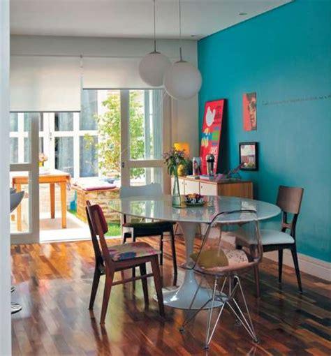 casa contemporanea  decoracion colorista  alegre