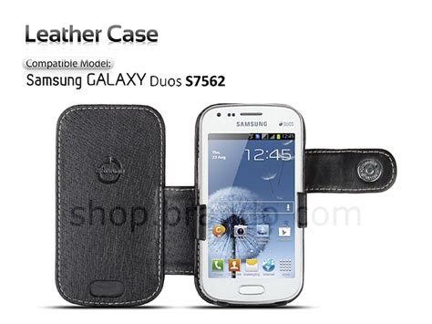 Smart Cover Auto Lock Samsung Galaxy J310j3 Leathercase brando workshop leather for samsung galaxy s duos s7562 side open