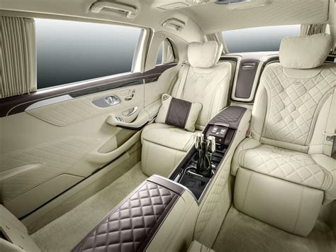 2015 S Class Interior by Mercedes Maybach S600 Pullman Fully Exposed