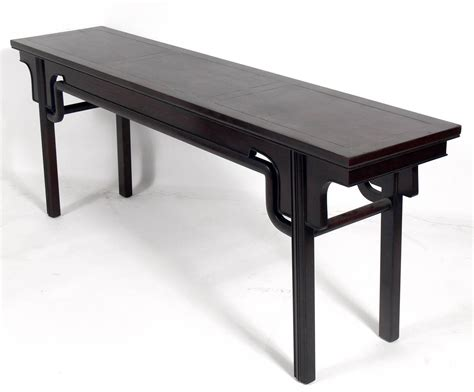 Japanese Console Table Asian Inspired Console Table By Michael For Baker At 1stdibs