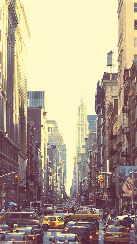 wallpapers for iphone 5 new york new york busy street sunset iphone 6 wallpaper hd free