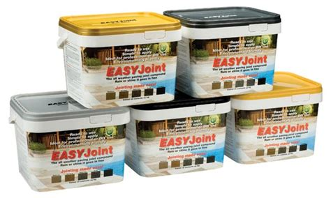 Patio Jointing Compound by Easyjoint Paving Patio Joint Filler Supplier Warrington