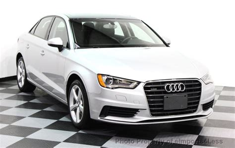 Used Approved Audi A3 2015 Used Audi A3 Certified A3 2 0t Quattro Premium Awd